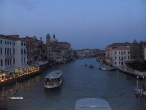 Anoitecer em Veneza...